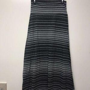 Mossimo Maxi Skirt Striped Size Medium